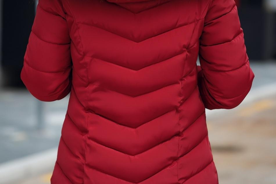 Parkas Langen Pelzkragen Weibliche Hut Mujer Wintermäntel Kragen Dicken Mode 2018 Winterjacke Jacke Frauen Großen Damen Neuen Großhandel Mantel PZkiuX