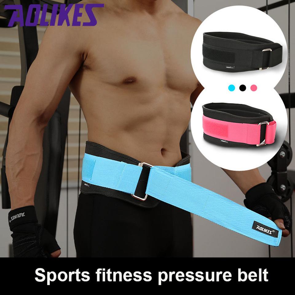 Large Haltérophilie Ceinture Bodybuilding Fitness Courroies Barbell formation Protecteur