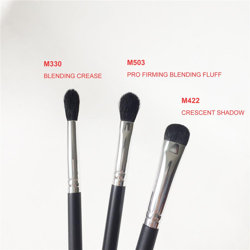 MO-SERIES M330 BLENDING CREASE M422 CRESCENT SHADOW M503 PRO FIRMING BLENDING FLUFF Eyeshadow Brush Quality Makeup Blender Brushes kit