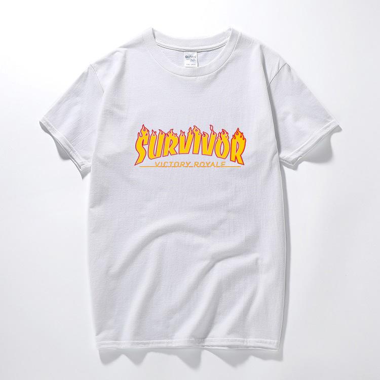Trasher fortnite game battle victory royale jeux brand t shirt kids boys man funny tshirts bush men summer cotton o neck t-shirt