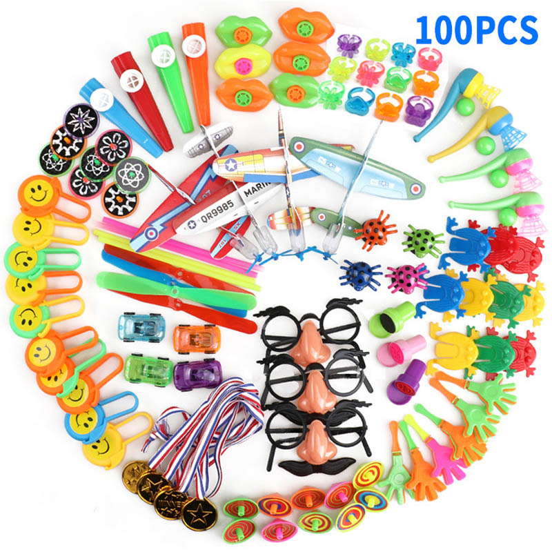 Home Kids Gift Goodie Bag School Reward Carnival Prizes Festive Party Supplies Birthday Toys Boys Girls Party Favors