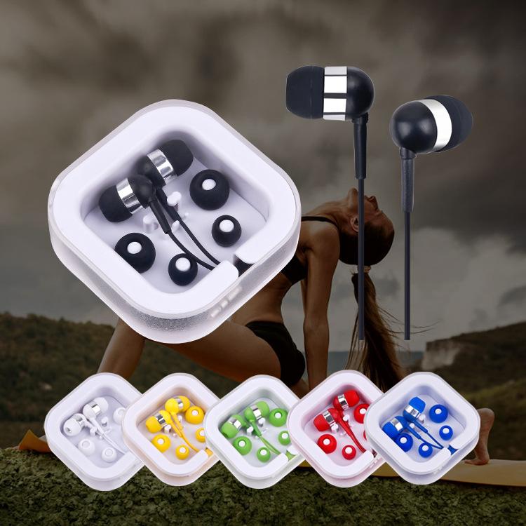 Günstige verdrahtete Kopfhörer für chinesische Marke wasserdichte Kopfhörer beste Smartphone Ohrhörer glühende Kopfhörer für Handy-Zubehör