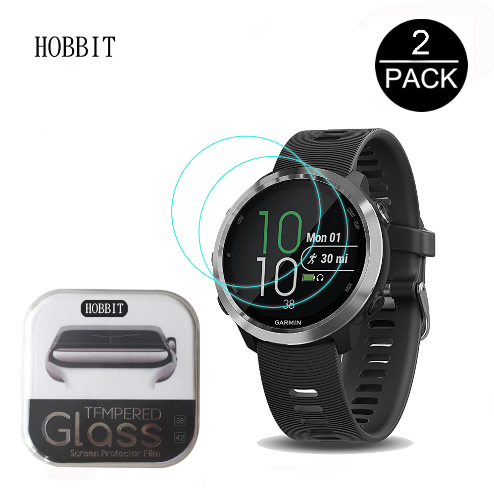 For Garmin Forerunner 645 0.3mm 9H Clear Tempered Glass Screen Protector Anti-Scratch Smartwatch Film For Garmin 645 Music