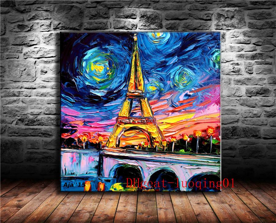 Vincent Van Gogh Zeegezicht bij Giclee Canvas Print Paintings Poster Reproductio