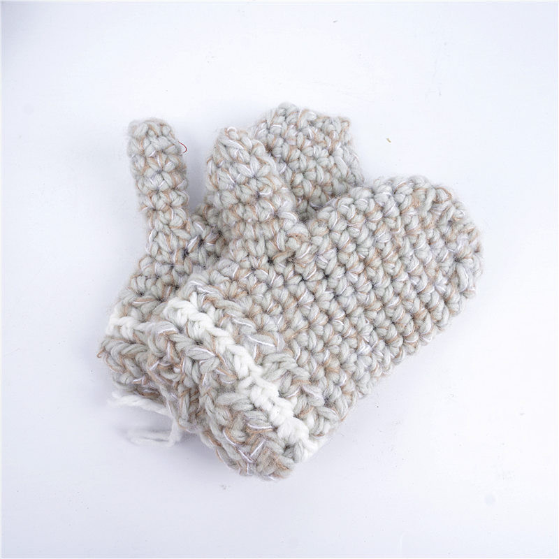Kids Winter Wool Hat Elk Hoode Hat Scarf Gloves 3 in Baby Warm Knitting Caps Christmas Gift Elk Crocket for Boys Girls Accessories Hot