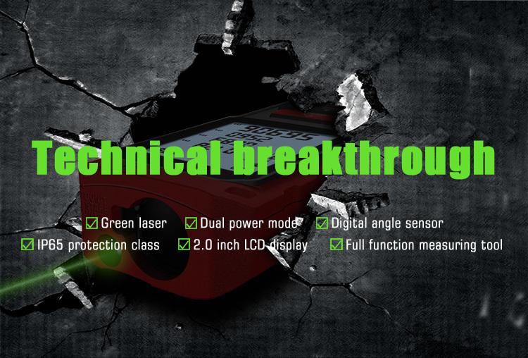 Entfernungsmesser Mit Grünem Laser : Großhandel mileseey s8g grüner laser entfernungsmesser digitales