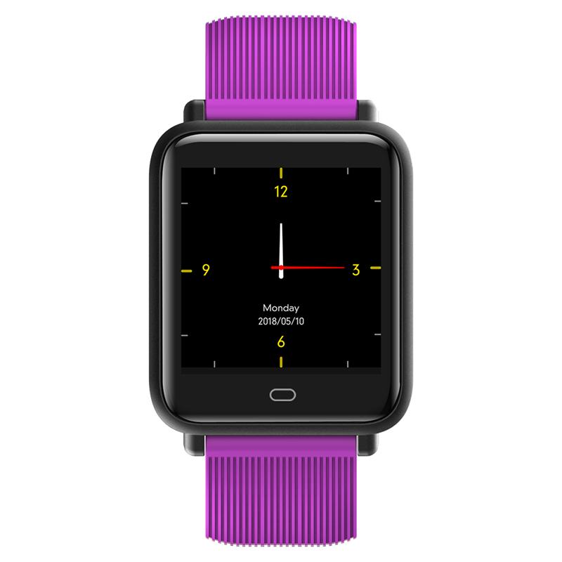 Blood Pressure Heart Rate Monitor Smart Watch IP67 Waterproof Sport Watch Fitness Tracker Watch for Men Women
