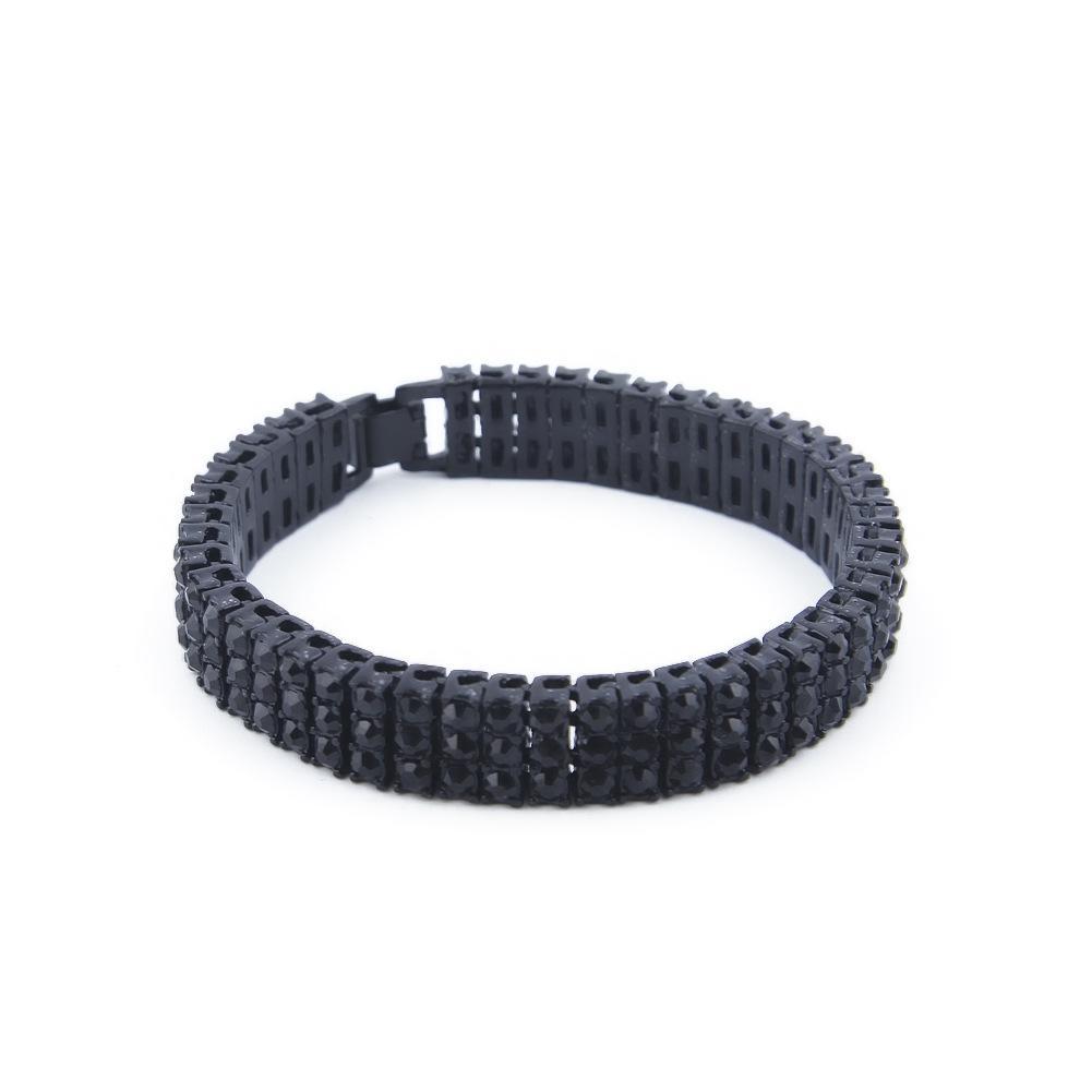 Fashion Brand Design Men's Bracelets Luxury 18K Gold Plated Gem Bracelet Lover Gift Fashion Jewelry