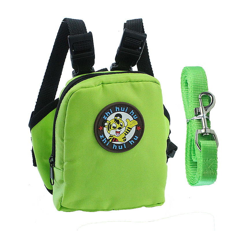 Pet Dog Backpack for Small Dog Nylon Backpack For Pet Cat Multifunction School Bag Dog Backpack With Harness Leash (8)