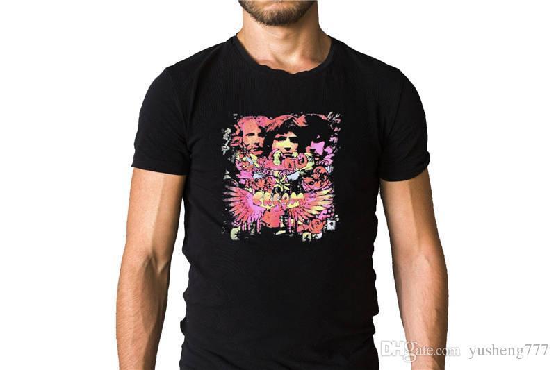 T Shirts 2018 Fashion Novelty Cream Disraeli Gears 1967 O-Neck Short-Sleeve Mens Tees