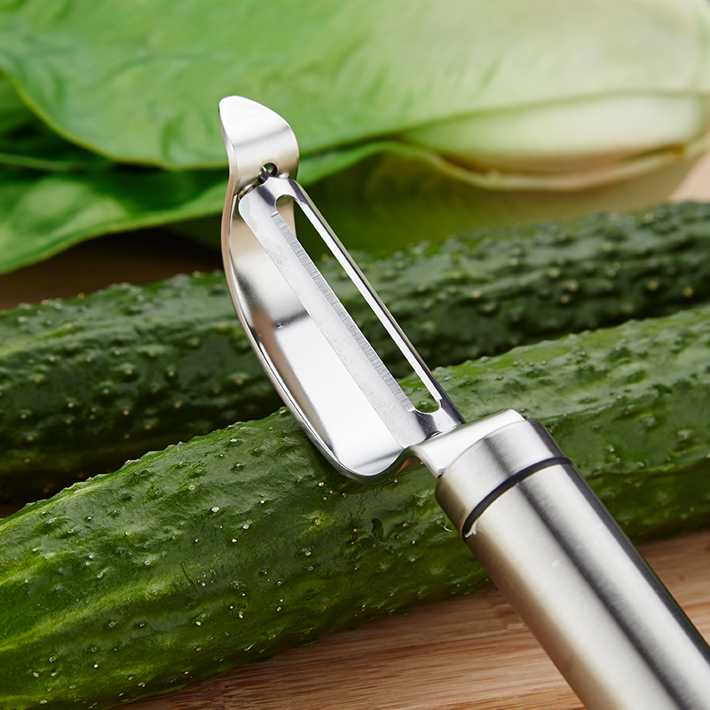 Stainless Steel Potato Peeler Fruit Vegetable Tools Metal Peeler Zesters Slicer Kitchen Gadgets Accessories Cooking Tools (2)