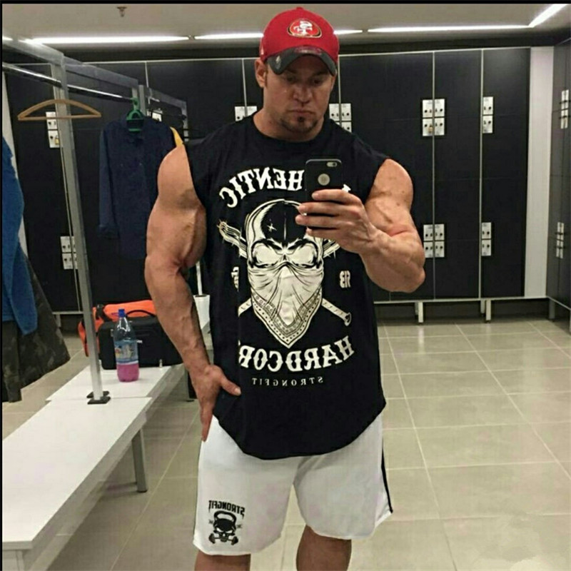 New Men/'s American Muscle Drapeau Américain Camouflage Débardeur Entraînement Fitness Bodybuilding Gym