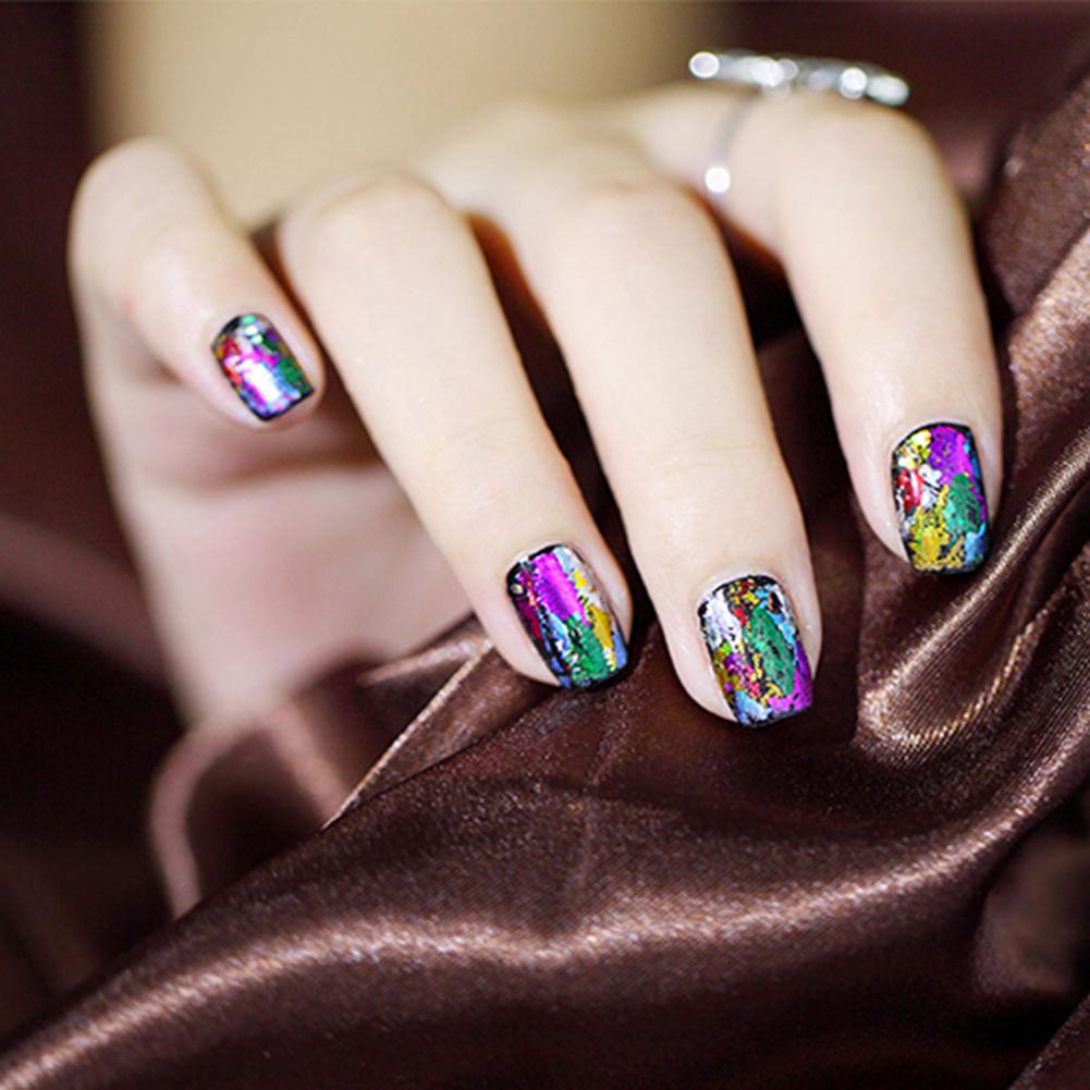 20Pcs Finger DIY Nail Art Sticker Decal Foils Water Transfer Stickers Tips Decor (3)