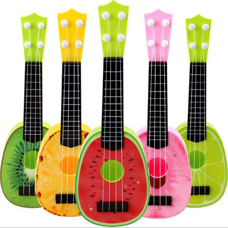 Giocattolo Musicale Simulazione Chitarra Acustica Bambino Plastica Regalo