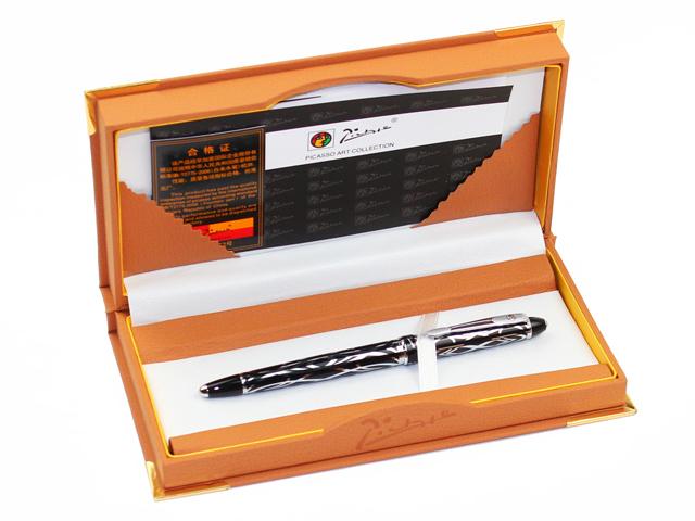 Pimio 901 Paris Exotica Luxury Gold Iridium Fountain Pen with 0.5mm Nib Metal Ink Pens Writing Office Gift