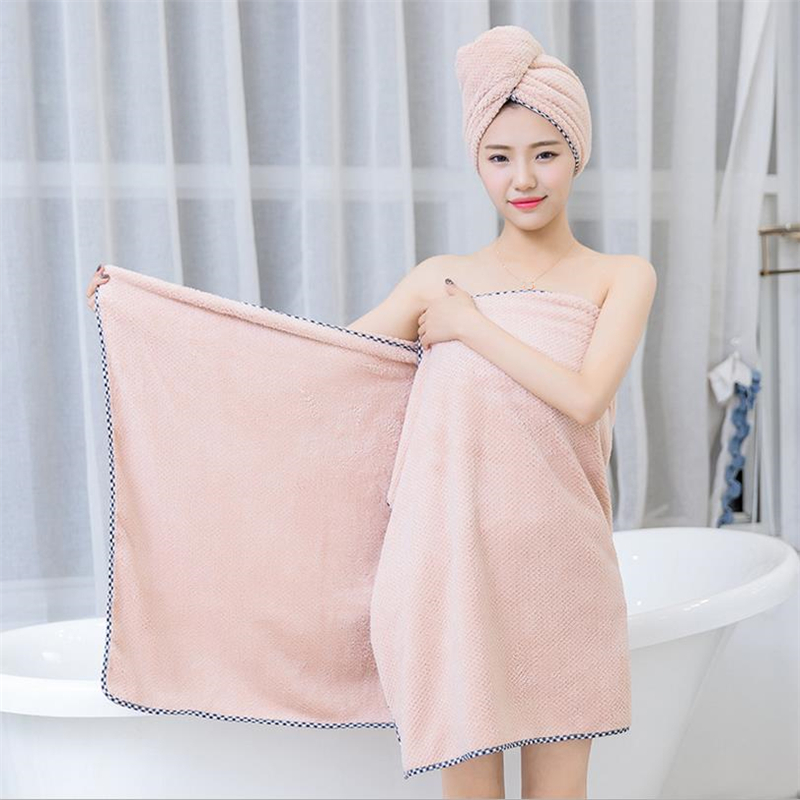 Chic Lady Bath Cloth Beach Towel Microfiber Shower Towel High Cheap Soft