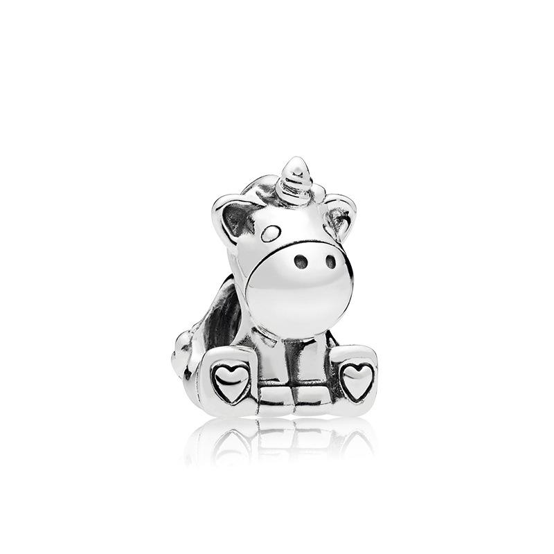 Free Ship 10pcs Antique Silver cow head Charms Pendants For Bracelet 27x28mm