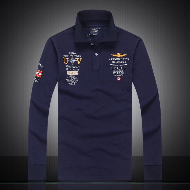 2018 neue heiße verkauf polo hemden mens luxus herbst polo neue ankunft einfarbig langarm t-shirt mode mens grundlegende casual style tops tees