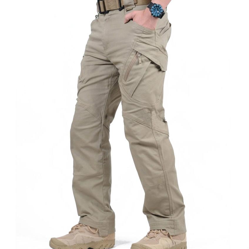 Da Uomo Elasticizzata MULTITASCA Cargo Combat Lavoro Pantaloni Pants