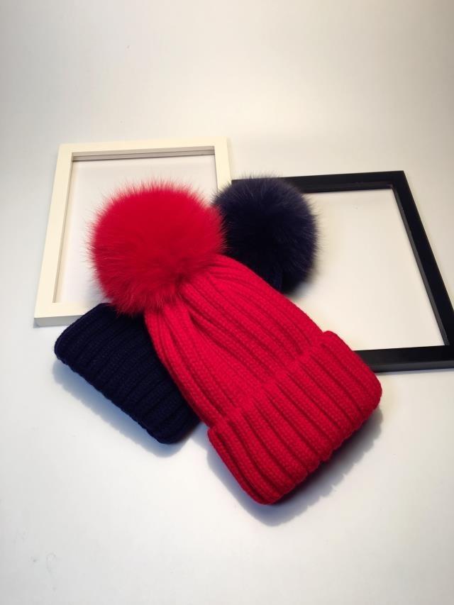 pompom hat fur hat winter hats for women knitted hat winter beanie hat women hat (5)