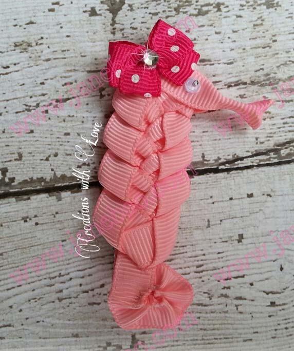 Seahorse ribbon