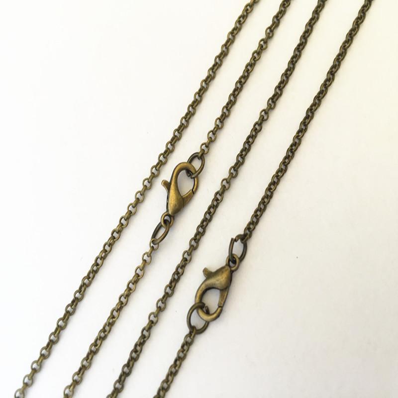 Collar De Bronce Antiguo clave Encanto Colgante Steampunk cadena larga Vintage 36 pulgadas