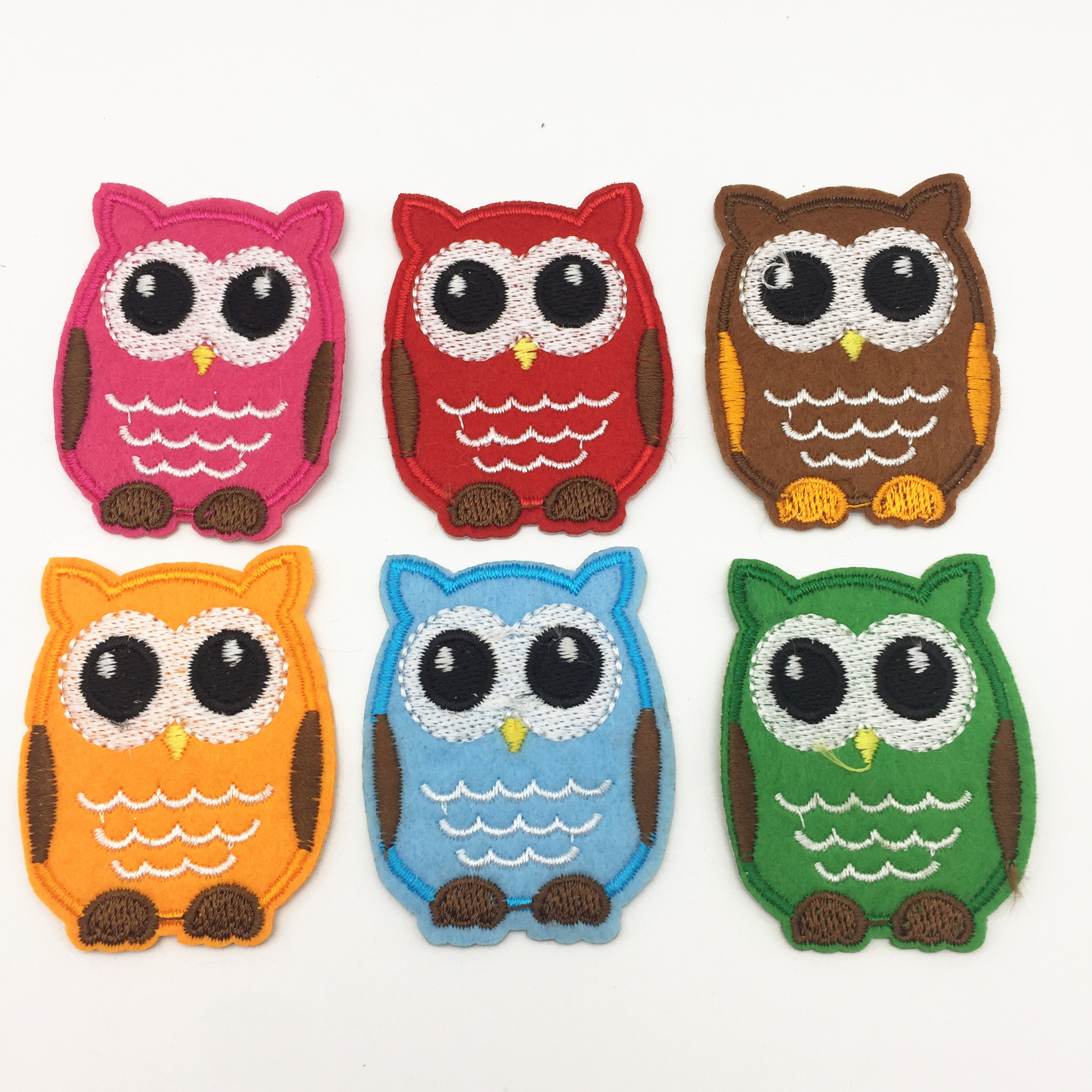 Owl Iron On Patch Sew On Bird Animal Embroidered Badge Craft Embroidery Applique