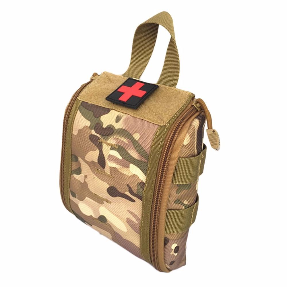 Durable Deporte Al Aire Libre Bolsa Médica Kit de Primeros Auxilios Tácticos Paquete Multifuncional Supervivencia de Emergencia Bolsa Vacía Para Viajes Camping