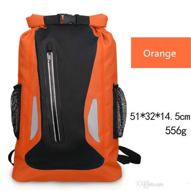 wholesale-Water Sports Rafting Boating Camping Beach Climbing Waterproof Bag Sack Waterproof Dry Storage Bags Adjustable Strap Backpack