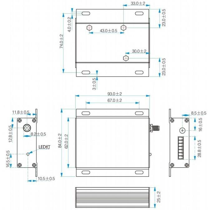 SV6300 10. Mechanical dimension