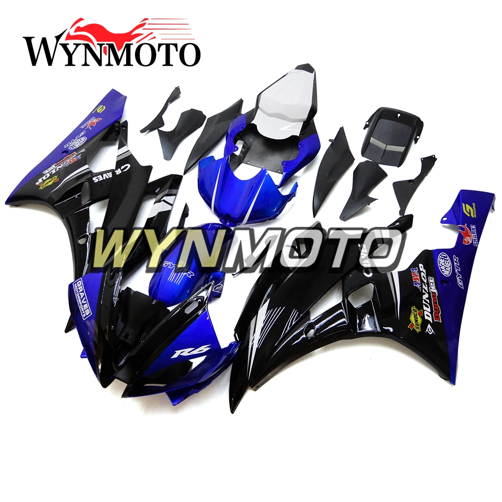 Complete Motorcycle Fairings for Yamaha YZF-600 R6 2003-2005 Year ABS Plastic 03 04 05 Motorbike Covers Body Work Panels Kit Orange White