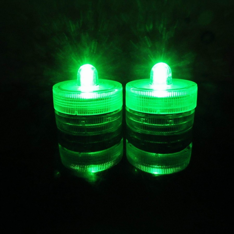 Waterproof Submersible LED Tea Light Electronic Candle Light (15)