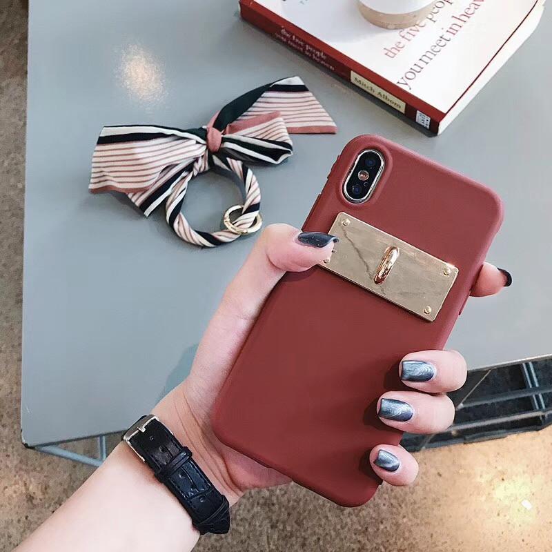 LUDI Luxury Silk Scarf Bow-knot Phone Case for iPhone XS MAX X Phone Cases for iPhone 678 Plus Soft Silicon Retro Fundas Capas04