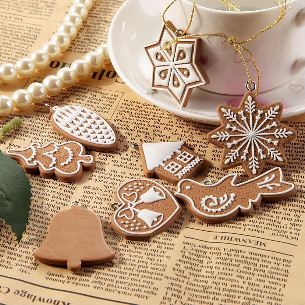 New Xmas Gifts Christmas Tree Hanging Ornaments Bauble Drop Pendants Party Decorations for Home Y18102609