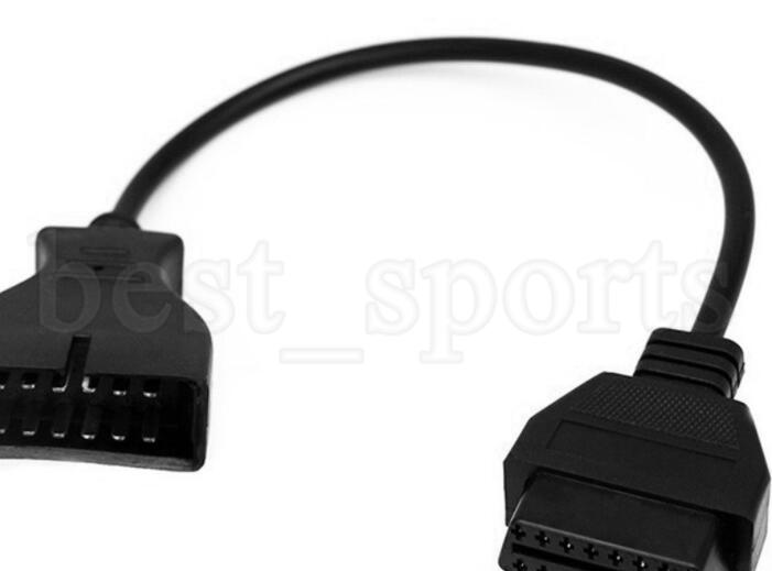 12 broches OBD1 à 16 broches OBD2 Convertisseur Câble Pour GM Diagnostic Convertisseur Scanner Adaptateur Câble KKA5954