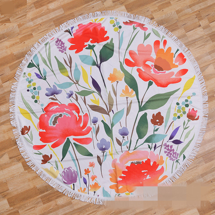 Round beach towel (11)