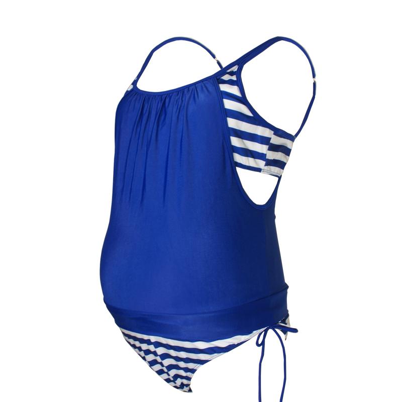 Maternity Swimwear Blue 001
