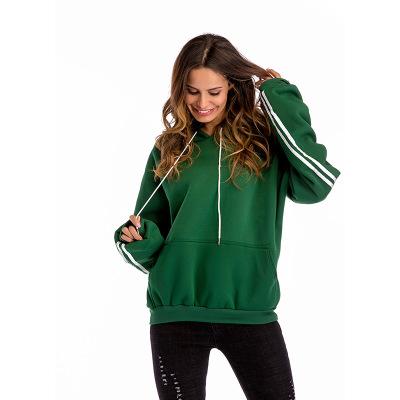2018 New Women Batwing Sleeve Hoodies Ladies Fashion Head Pockets Plus Velvet Thick Sweater Female Large Size Sweatshirts
