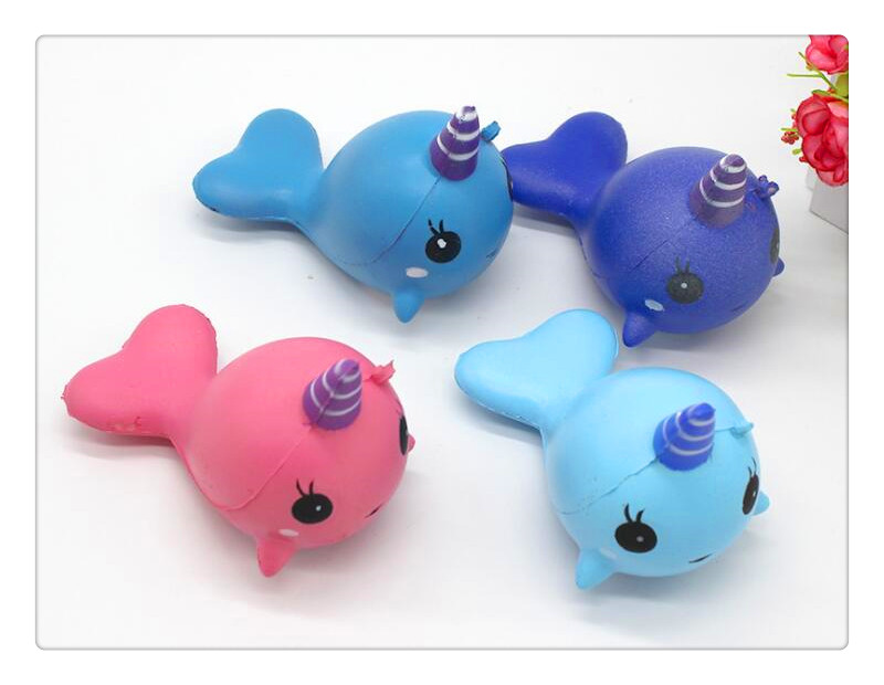 New Kawaii Squishies Slow Cute Dolphin Animal Phone Straps Rising Scented Bread Cake Kid squishy charm/Squishies/Key chain