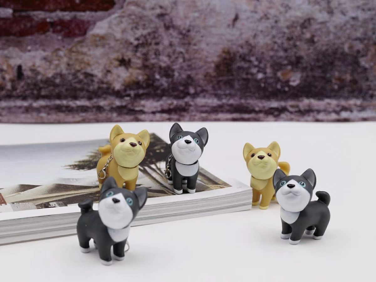 Lucky Shiba Dog Pendant Gel Pen Ink Pen Promotional Gift Stationery School & Office Supply