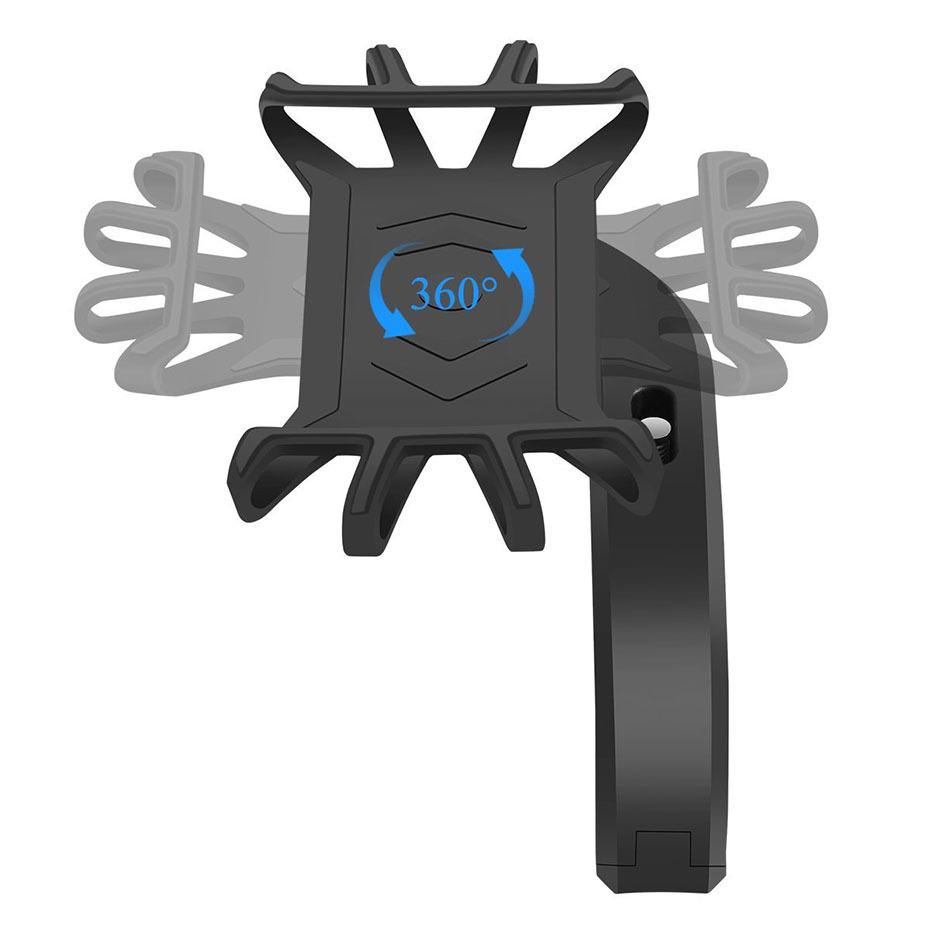 360 Degree Rotation Bicycle Phone Holder For Iphone X Iphone 8 Smartphone Bike Handlebar Mount Bracket Navigation Stand Holder (8)