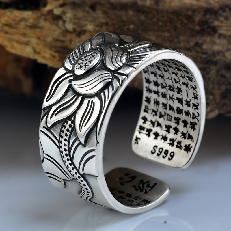 Stainless Steel Adjustable Size Fashion Women Lucky Jewelry Hippopotamus Ring