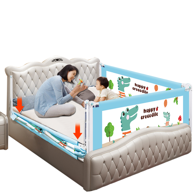 To Happy 2M//1.8M Universal Baby Bed Rail Safety Guardrail Use Bed Fence