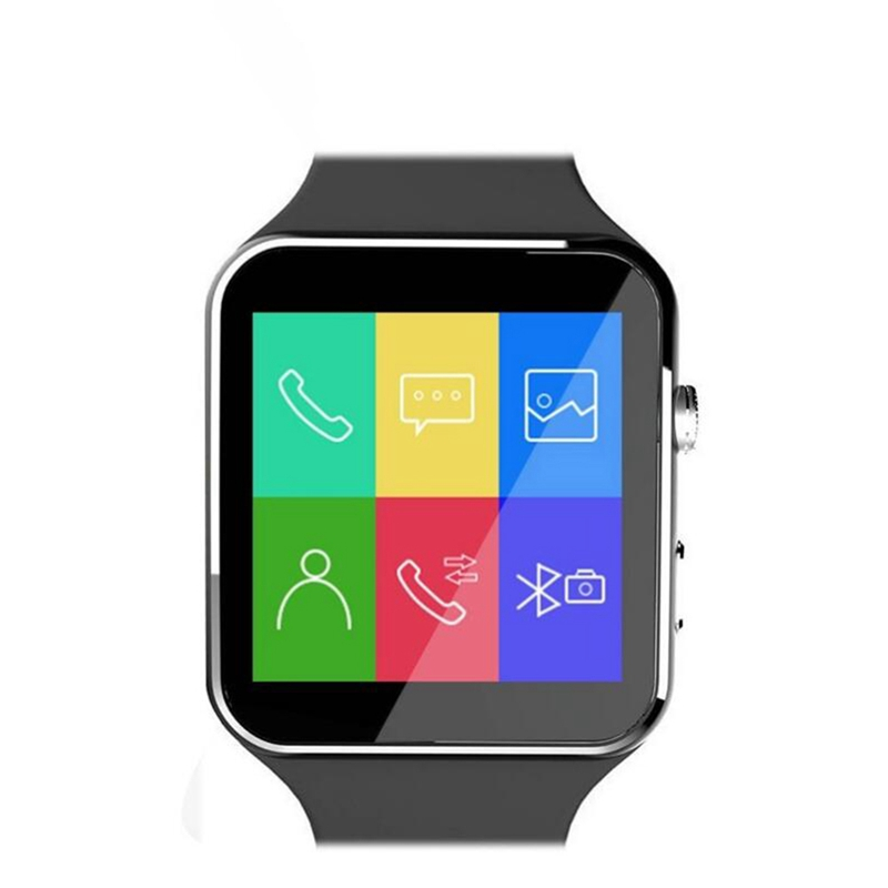 Luxury New Arrival X6 Smart Watch with Camera Touch Screen Support SIM Card Bluetooth Smartwatch for iPhone Xiaomi Android Phone