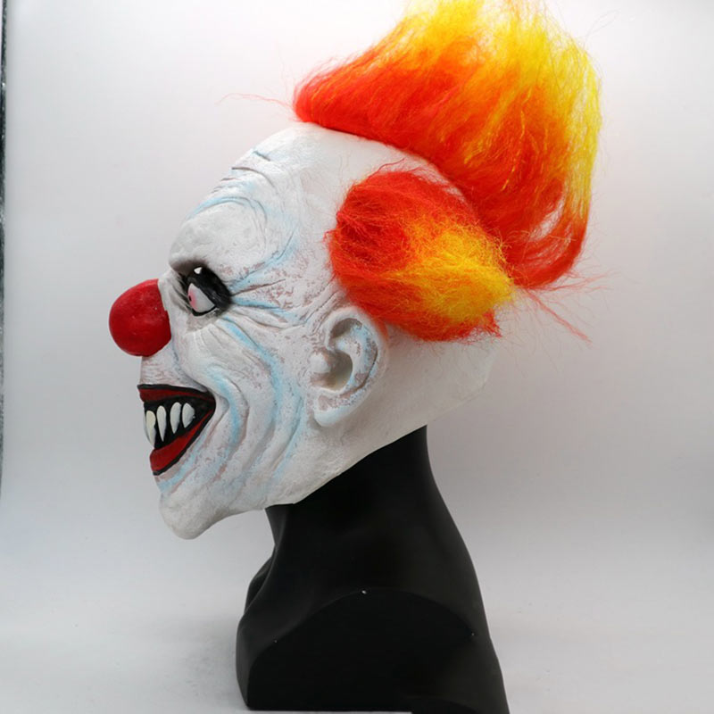 Halloween Mask Party Full Face Masks Adult Ghost Mask Killer Clown Scary Creepy Horror Terror Masquerade Cosplay Mischief Mask (4)