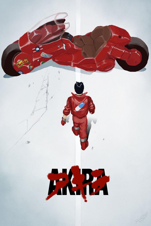 Akira Shoutarou Kaneda Japan Anime Art Silk Poster  12x18 24x36