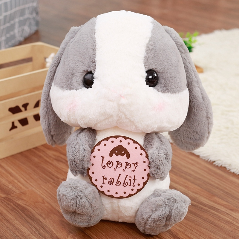 4kinds Cute Long Ears Rabbit With Milk Bottle Rosette Radish And Biscuits Soft Animal Plush Toy Stuff Doll Gift For Children