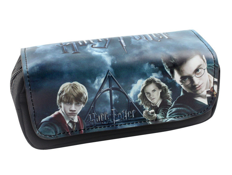 Harry Potter Pencil Penna Portafogli Cartoon Pencil Case Studenti Cartoleria Sacchetto di Immagazzinaggio Forniture Ufficio Scuola moneta Puerse 30 pz T1I898