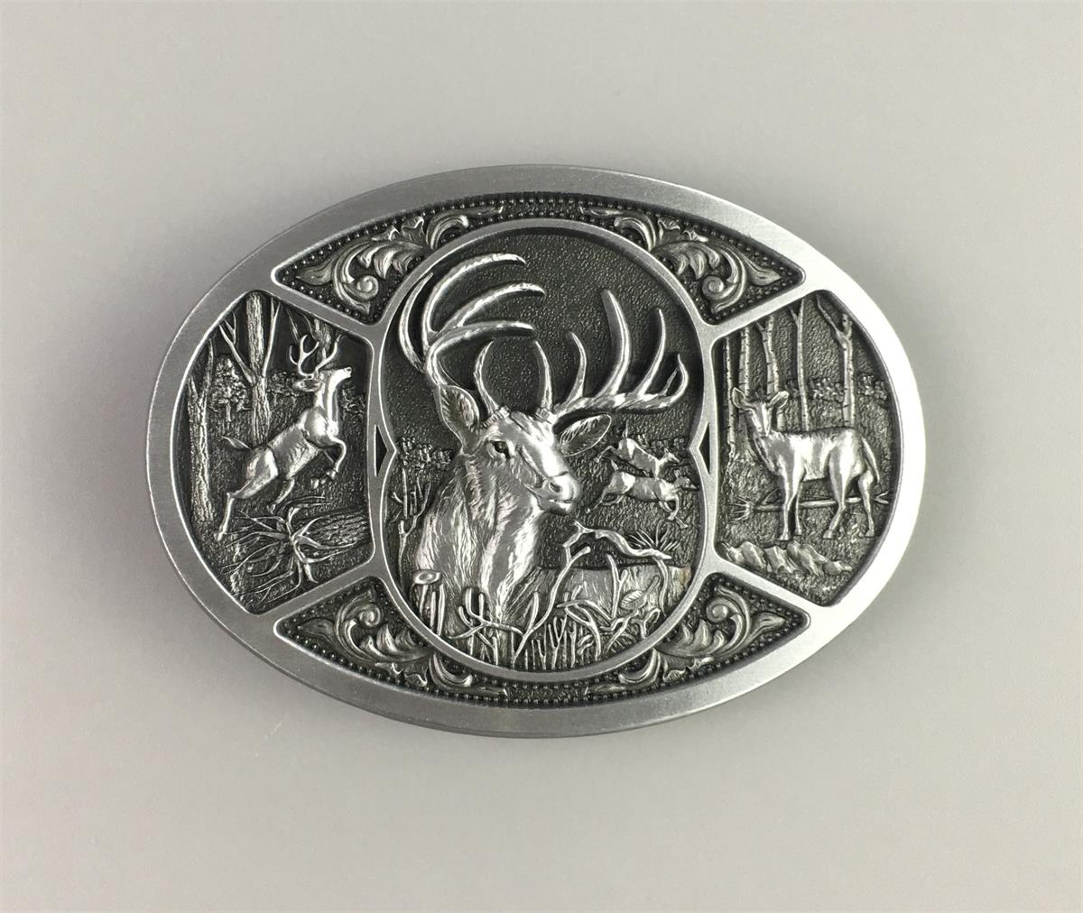 Classic America Sheriff Badge Heavy Metal Belt Buckle Fashion Boys Mens Jewelry