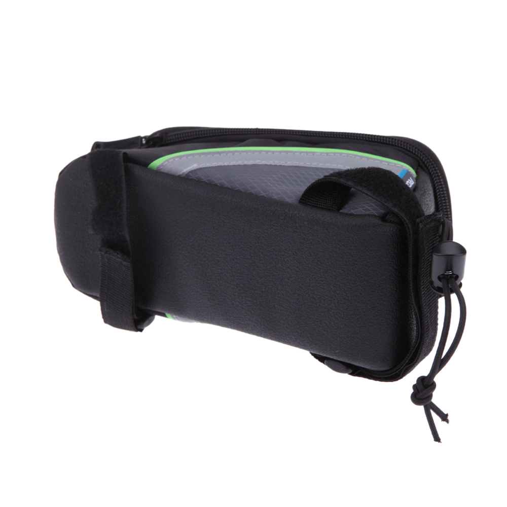 "wholesale 4.8"" Cycling Bicycle bag Pannier Frame Front Tube Bag For Cell Phone MTB Bike Touch Screen Bag Bicicleta Accessories"